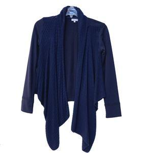 Splendid Girls Open Cardigan Navy Blue Size 12